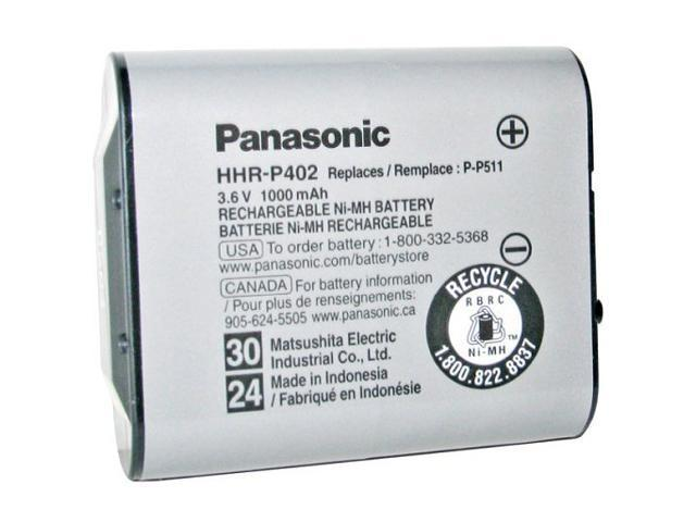 Panasonic HHR-P402A 1000mAh NiMH Rechargeable Cordless Phone Battery