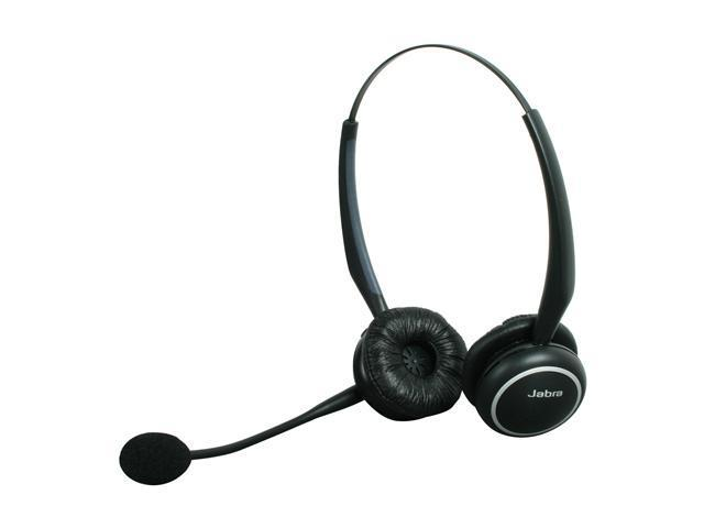 Jabra GN9125 Duo Wireless Stereo Headset with Flex Boom NC Mic