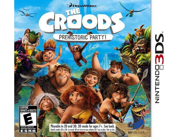 The Croods: Prehistoric Party! Nintendo 3DS Game