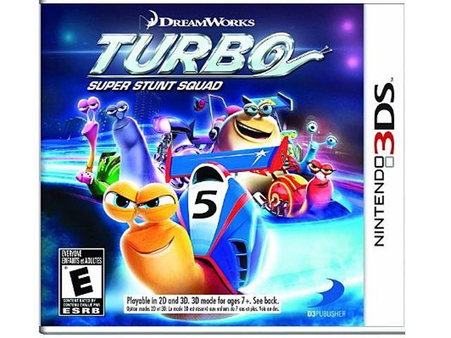 Turbo: Super Stunt Squad Nintendo 3DS Game