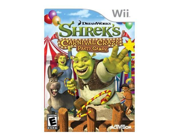 Shrek's carnival craze Wii Game