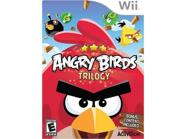 Angry Birds Trilogy Wii Game