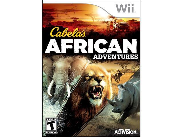 Cabela's African Adventures Wii Game