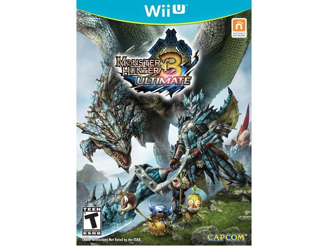 Monster Hunter 3 Ultimate Wii U Game