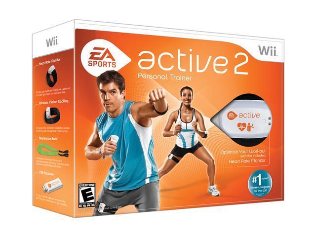 EA Sports Active 2.0 Bundle Wii Game