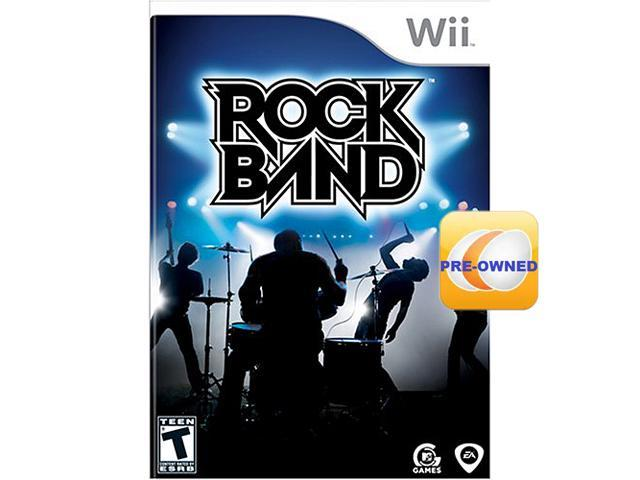 Pre-owned Rock Band Wii