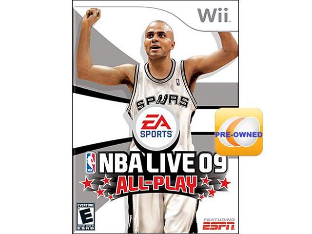 Pre-owned NBA Live 09 All-Play Wii