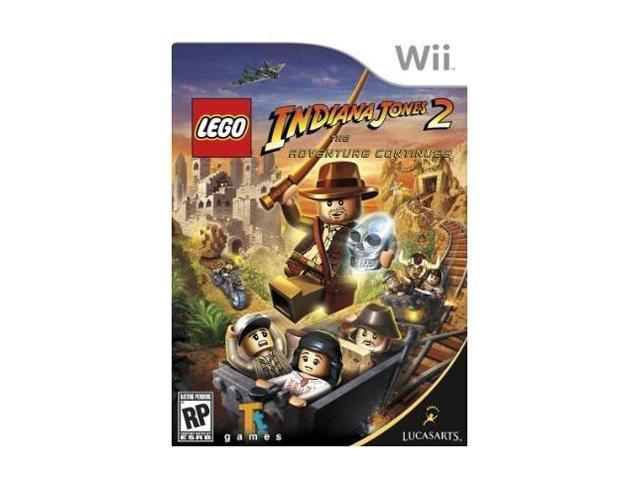 Lego Indiana Jones 2: Adventure Continues Wii Game