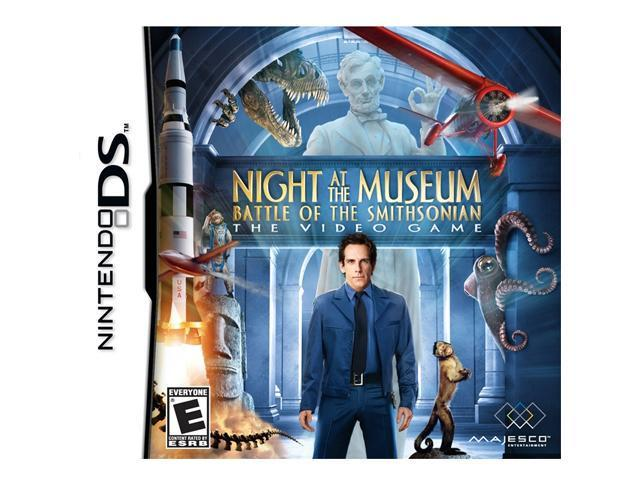 Night at the Museum: Battle of the Smithsonian Nintendo DS Game