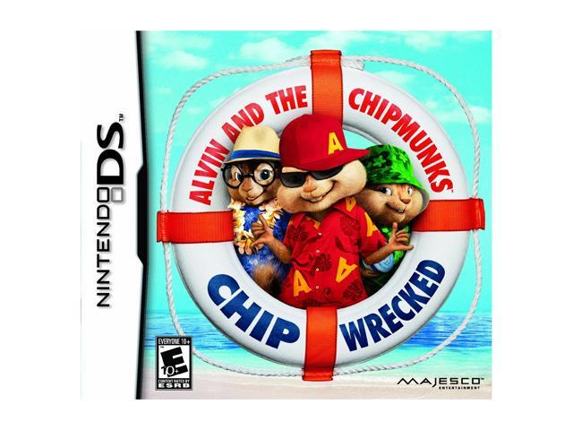 Alvin and the Chipmunks 3: Chipwrecked Nintendo DS Game