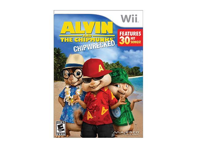 Alvin and the Chipmunks 3: Chipwrecked Wii Game