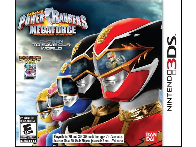 Power Rangers: Megaforce Nintendo 3DS