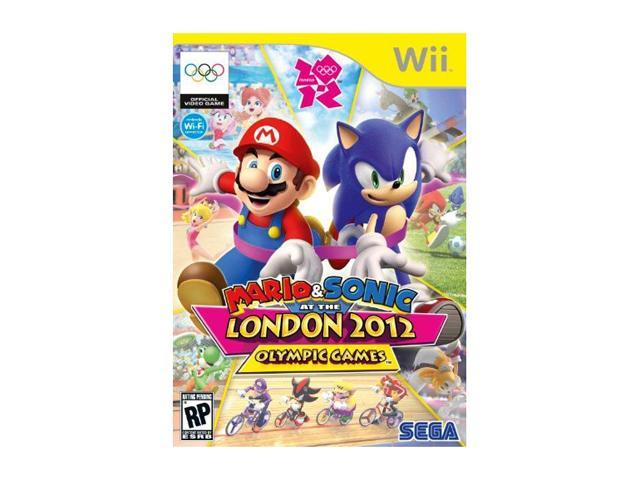Mario & Sonic: London Olympic Games Wii Game