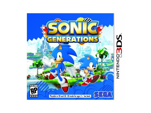 Sonic Generations Nintendo 3DS Game