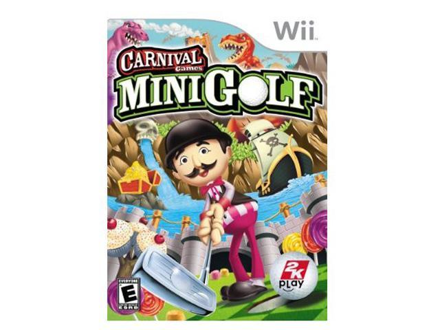 Carnival games: Mini Golf Wii Game