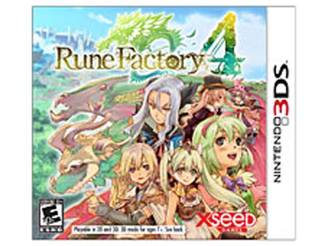 Rune Factory 4 Nintendo 3DS Game