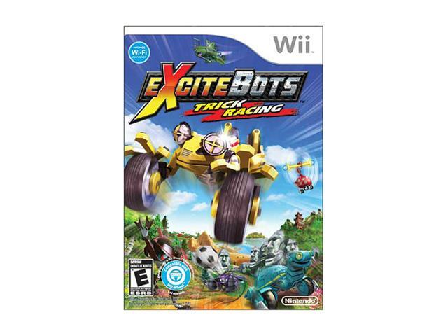 Excitebots: Trick Racing w/Wheel Wii Game
