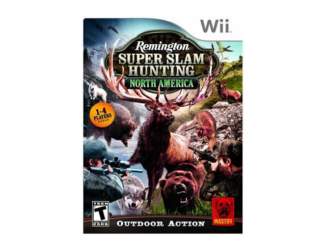 Remington Super Slam Hunting North America Wii Game