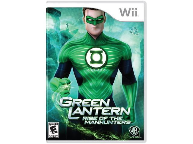 Green Lantern: Rise Of Manhunters Wii Game