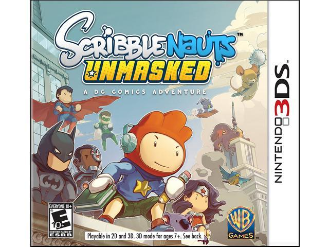 Scribblenauts UnMasked Nintendo 3DS Game