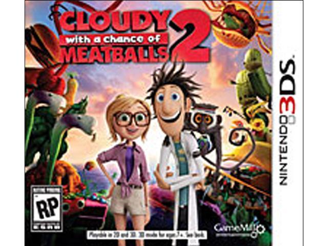 Cloudy With A Chance Of Meatballs 2 Nintendo 3DS Game