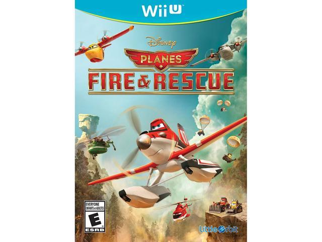 Planes Fire and Rescue Wii U