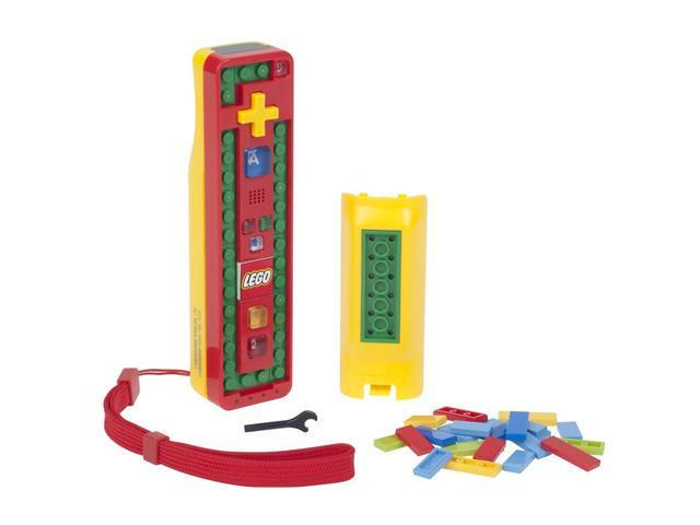 Power A Wii LEGO Play and Build Remote Red/Yellow