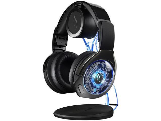 PDP PS4 & PS3 Afterglow Wireless Headset with Charging Dock - Black