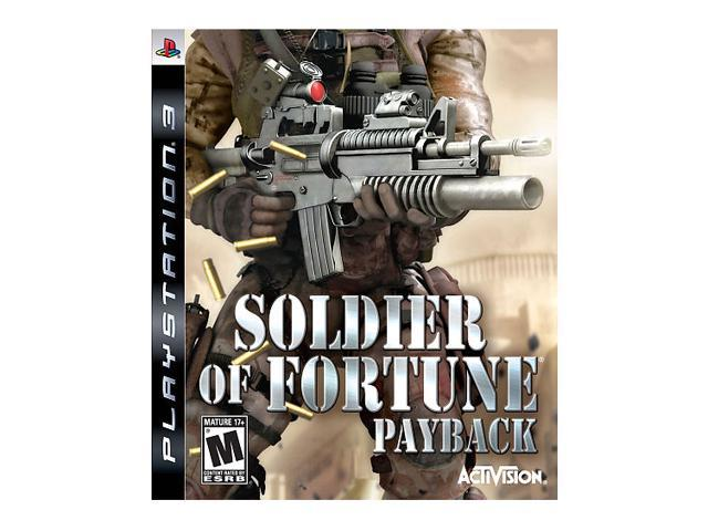 Soldier of Fortune Payback Playstation3 Game