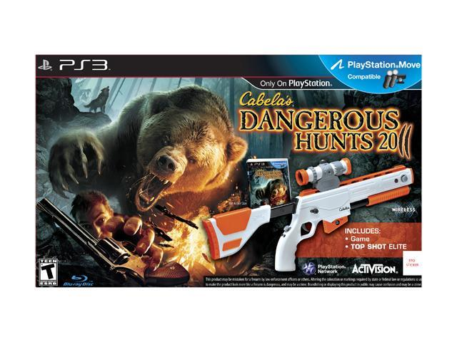 Cabela's Dangerous Hunts 2011 Gun Bundle PlayStation 3