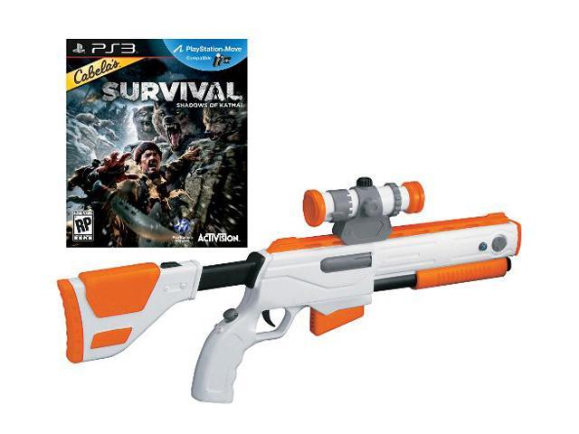 Cabela's Survival Adventures w/Gun Playstation3 Game