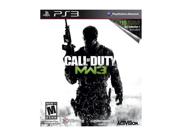 Call of Duty: Modern Warfare 3 w/DLC Collection 1 Playstation3 Game