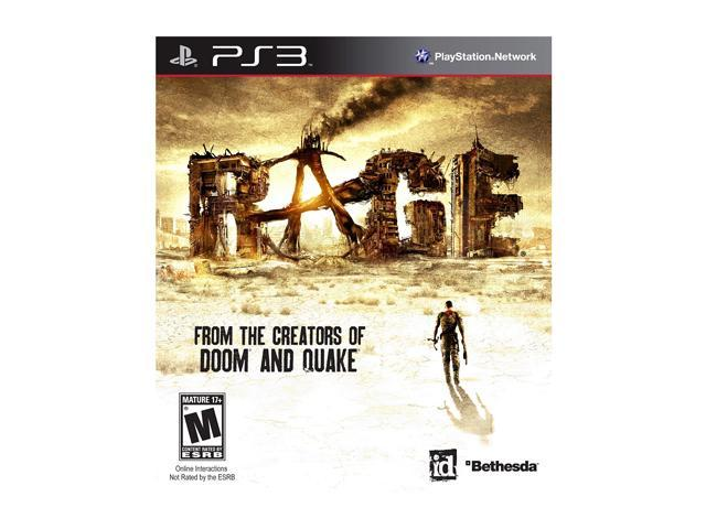 Rage Playstation3 Game