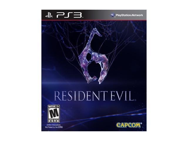 Resident Evil 6 Playstation3 Game