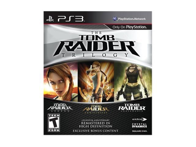 Tomb Raider Trilogy Playstation3 Game