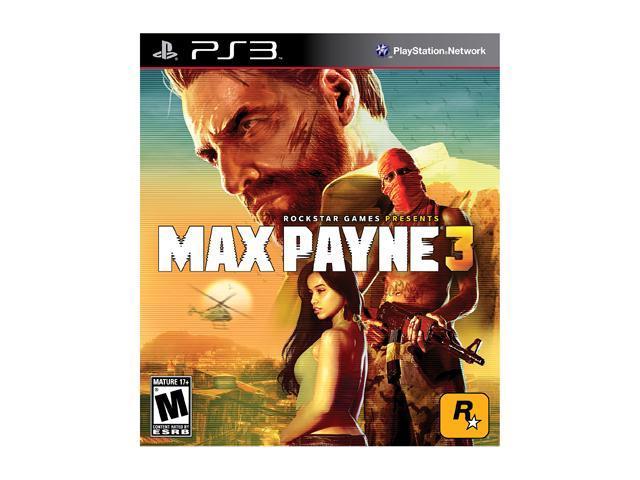 Max Payne 3 Playstation3 Game