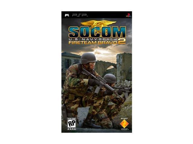 SOCOM US Navy Seals: Fireteam Bravo 2 PSP Game SONY