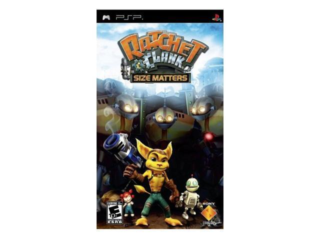 Ratchet & Clank: Size Matters PSP Game SONY