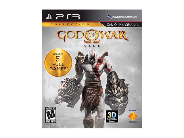 God of War Saga Collection Playstation3 Game