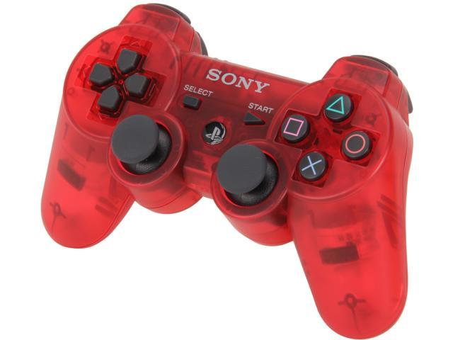 SONY PS3 Dualshock 3 Wireless Controller: Crimson Red