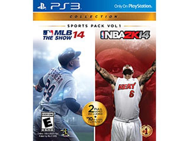 MLB 14 The Show/NBA 2K14 Combo Pack (2 Disc) PlayStation 3