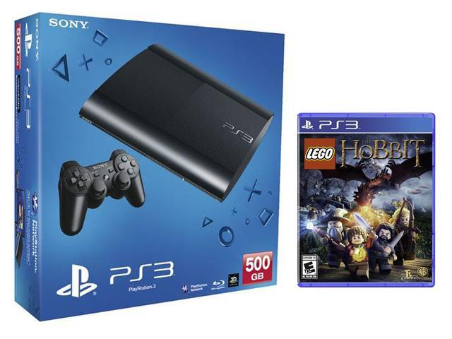 PlayStation 3 500GB LEGO/The Hobbit Hardware Bundle