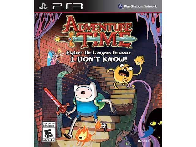 Adventure Time: Explore the Dungeon Because I DON'T KNOW! PlayStation 3
