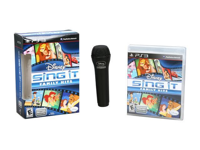 Sing It: Family Hits Bundle Playstation3 Game