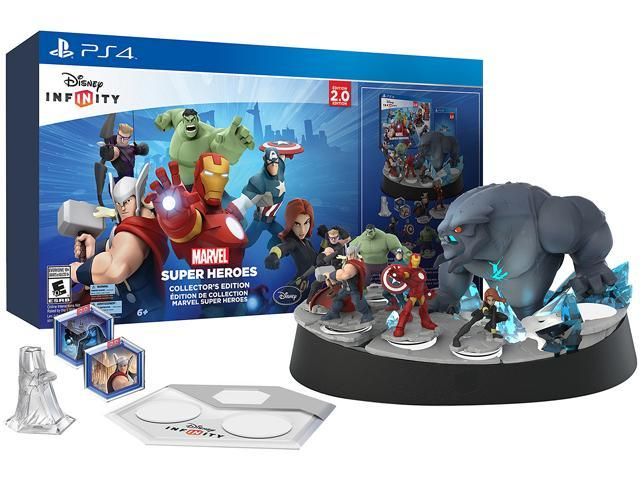 Disney INFINITY: Marvel Super Heroes (2.0 Edition) Collector's Edition PS4