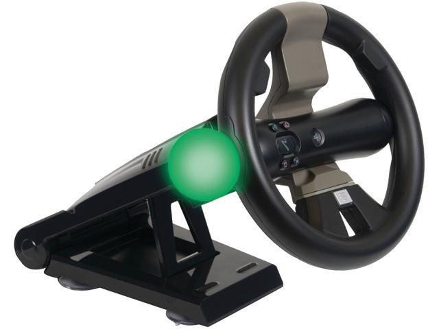 CTA Racing Wheel With Stand For PlayStation Move & DualShock Controllers