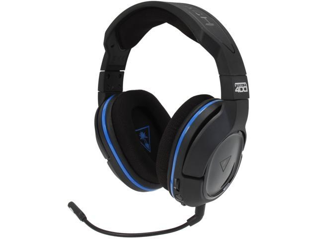 Turtle Beach Ear Force Stealth 400 Premium Fully Wireless Gaming Headset for PlayStation 4, PlayStation 3, and Mobile Devices (TBS-3240-01)