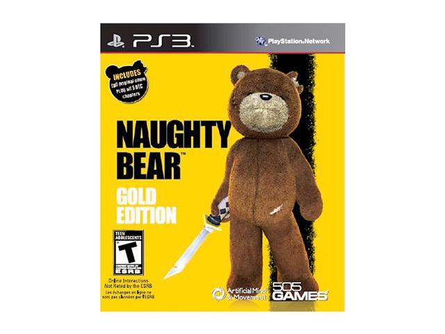 Naughty Bear Gold Edition Playstation3 Game