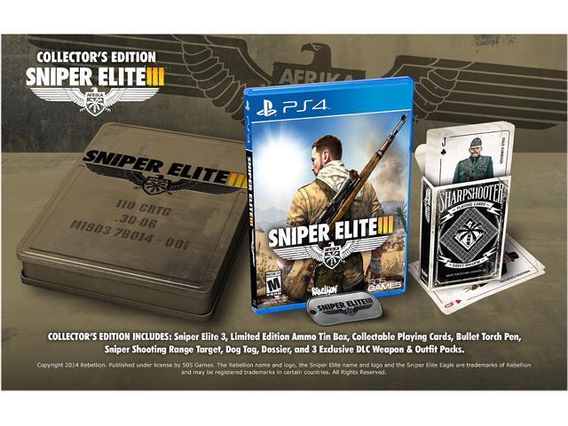 Sniper Elite V3 Collector's Edition PlayStation 4