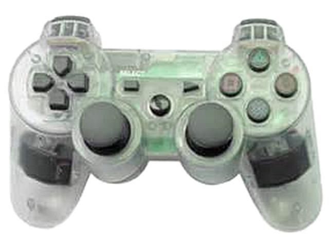 Arsenal PS3 wired controller - Clear with Lights